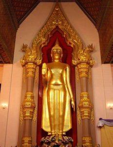 พระพุทธรูปปางห้ามญาติ-พระพุทธรูปประจำวันจันทร์