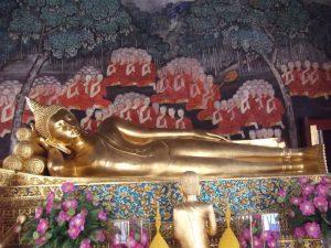 พระพุทธรูปปางไสยาสน์–พระพุทธรูปประจำวันอังคาร
