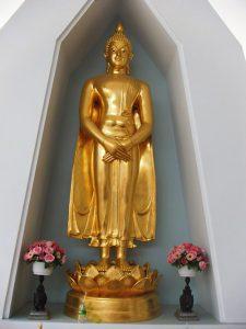 พระพุทธรูปปางถวายเนตร-พระพุทธรูปประจำวันอาทิตย์