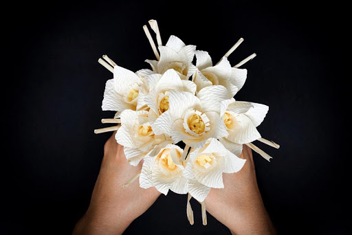 ดอกไม้จันทร์ งานศพ